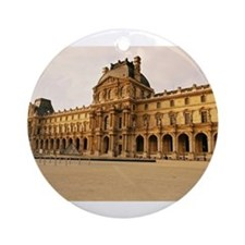 Louvre Museum Ornament (Round)