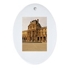 Louvre Museum Oval Ornament