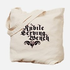 Nubile Serving Wench Tote Bag