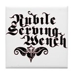 Nubile Serving Wench Tile Coaster