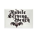 Nubile Serving Wench Rectangle Magnet