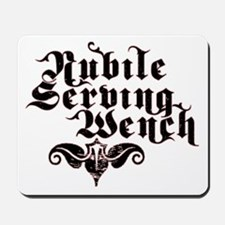 Nubile Serving Wench Mousepad