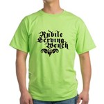 Nubile Serving Wench Green T-Shirt