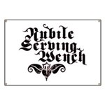 Nubile Serving Wench Banner
