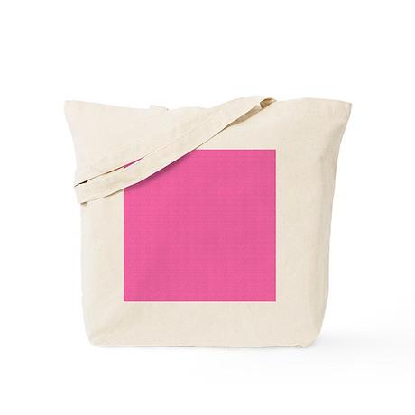 Eclectic Pink Satin Look Tote Bag