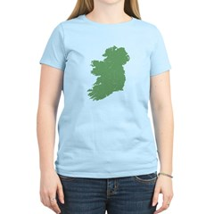 Vintage Irish Map Women's Light T-Shirt