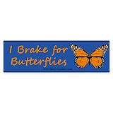 I brake for butterflies 10 Pack