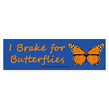 I Brake for Butterflies (Bumper sticker - 10 pk)