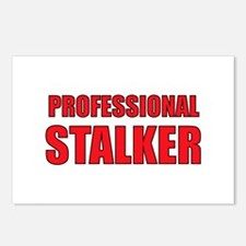 Professional Stalker Postcards (Package of 8)
