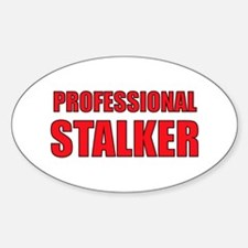 Professional Stalker Oval Decal
