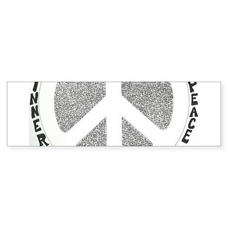 Inner Peace Bumper Sticker