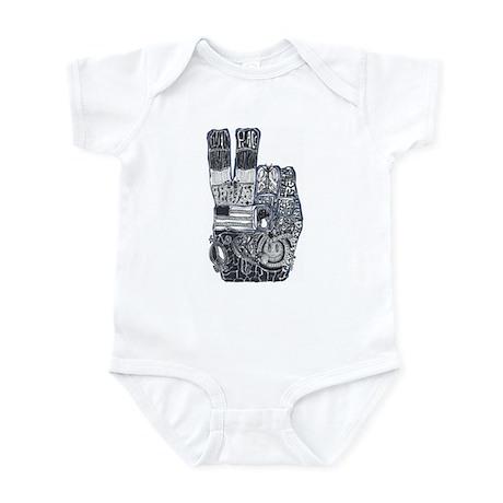 Hands of Peace Infant Bodysuit