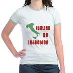 Italian by Injection Jr. Ringer T-Shirt