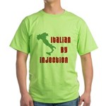 Italian by Injection Green T-Shirt