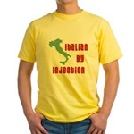 Italian by Injection Yellow T-Shirt