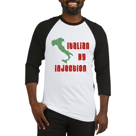 Italian by Injection Baseball Jersey