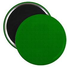 Dark Green Linen Look Magnet