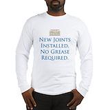 Knee surgery humor Long Sleeve T-shirts
