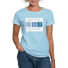 Curtis Dancing Blue T-Shirt