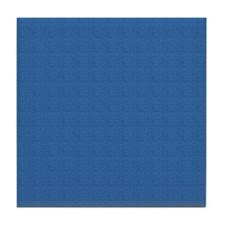 Dark Blue Linen Look Tile Coaster