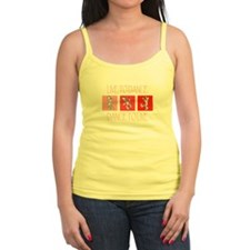 Live To Dance Red Jr. Spaghetti Tank