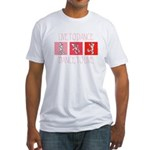 Live To Dance Red Fitted T-Shirt