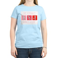 Live To Dance Red T-Shirt