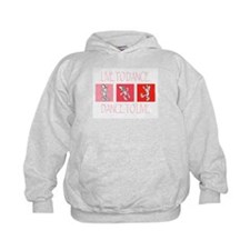 Live To Dance Red Kids Hoodie