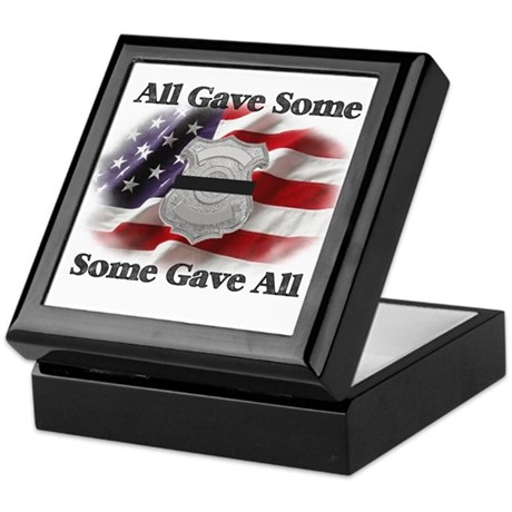 All Gave Some Memorial Keepsake Box