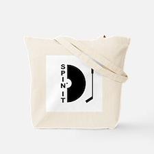 Rainbow DJ Tote Bag