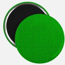 Green Linen Look Magnet