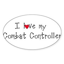 Combat Controller Oval Decal