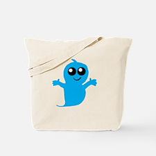 Blue Boy Ghost Tote Bag