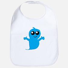Blue Boy Ghost Bib