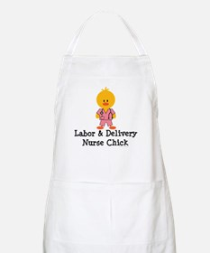 Labor and Delivery Chick BBQ Apron