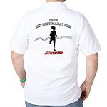 2009 Detroit Marathon Survivor Golf Shirt