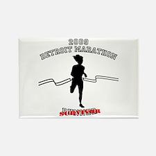 2009 Detroit Marathon Survivor Rectangle Magnet