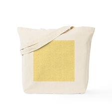 Yellow Linen Look Tote Bag