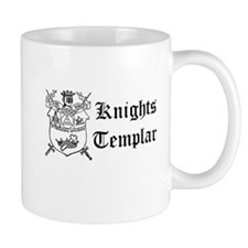 Knights Templar York Shield Small Mug