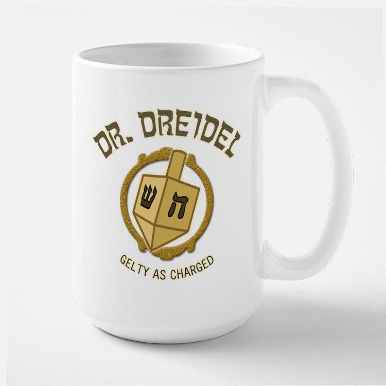 Dr. Dreidel - Large Mug