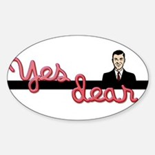 Yes Dear Oval Decal