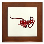 Nasty Framed Tile
