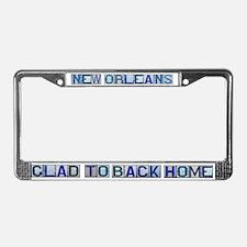 N.O. Street Tile Replicas License Plate Frame