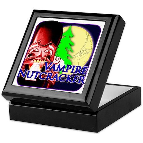Vampire Nutcracker Dark Night Keepsake Box