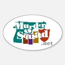 Murder Squad Oval Decal