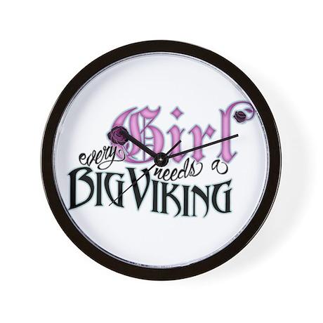 Every Girl Needs a Big Viking Wall Clock