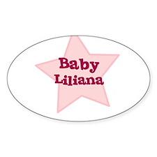 Baby Liliana Oval Decal