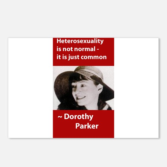 Dorothy Parker - Heterosexual Postcards (Package o