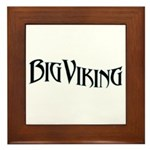 Big Viking Framed Tile