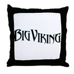 Big Viking Throw Pillow